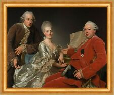 John Jennings Esq., his brother and sister-in-law Alexandre roslin B a3 00371