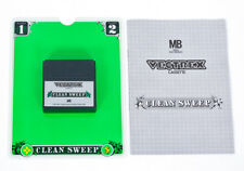 Clean Sweep With Overlay & Manual - Vectrex Milton Bradley MB