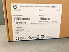 HP JD598A, HP A-MSR 32-CHNNEL VOICE PROCESSING MODULE JD598-61101