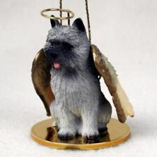 Small Angel Cairn Terrier Grey Dog Breed Angel Christmas Holiday Ornament