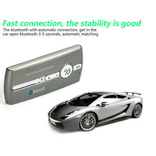 Bluetooth Hands Free Car Auto Kit Speakerphone Libres Speaker Phone Visor Clip