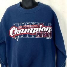 New England Patriots Youth Size 8 Sweatshirt AFC East Champions 2003 Crewneck