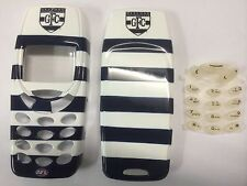 Nokia 3310,3330 Geelong Cats AFL Matching Front & Back Covers & Keypad.Brand New