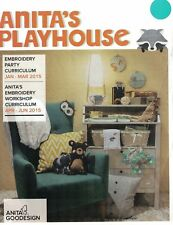 Anita Goodesign Anita's Playhouse Embroidery Machine Design CD NEW