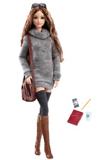 The Barbie Look City Chic Style Black Label Articulated Doll With Purse & Boots