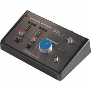 Solid State Logic SSL 2 - 2x2 USB Audio Interface