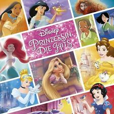 DISNEY PRINZESSIN:DIE HITS (LIMITED DELUXE EDITION,ORIGINAL SOUNDTRACK) 2CD NEW+