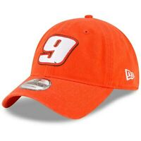 New Era Chase Elliott Orange Enzyme Washed 9TWENTY Adjustable Hat