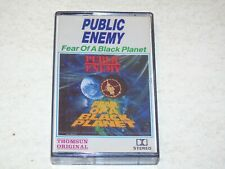 PUBLIC ENEMY - Fear Of A Black Planet - 1990 UK 20-track Cassette