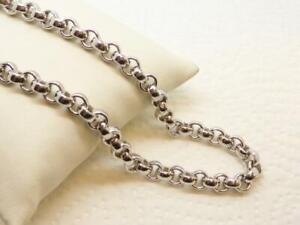 Elegante Erbskette 925 Sterling Silber Länge: ca. 46 cm Hingucker Dame