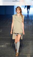 Alexander Wang Runway Sleeveless Trench Coat Large Rihanna
