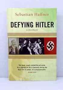Defying Hitler: A Memoir Sebastian Haffner illustrated hardback dust jacket used