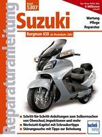 Suzuki Burgman 650 ab 2002 Reparaturanleitung Reparaturbuch Handbuch Wartung NEU