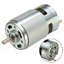 Dc 12v 36v 3500 9000 Rpm Large Torque Motor High Power Low Noise 775 Motor Usa