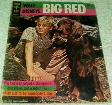 Walt Disney's Big Red 10026-503, GD (2.0), 1964, 33% off Guide!