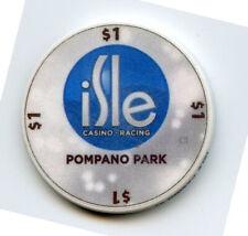 1.00 Casino Chip from the Isle Casino Pompano Park Florida