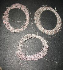 75' of 28g Silver coated wire High Temp Hook up wire stranded Made in USA