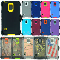 For Samsung Galaxy S5 Protective Case Cover (Belt Clip fits Otterbox S5 Defender
