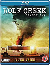 WOLF CREEK COMPLETE SEASON 2 BLU RAY Second Series John Jarratt UK Rel NEW R2