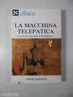 F311 CLINICA LA MACCHINA TELEPATICA STUDI SU DISCORSO SCHIZOFRENICO SPIRALI 1981
