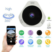 Wireless WIFI mini 360° HD 960P Panoramic IP Camera Fisheye CCTV Camera