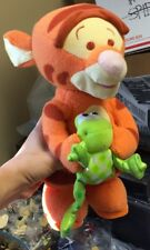 Rare! Bounce Around Baby Tigger Holding Baby Frog - Does Not Bounce Properly Now