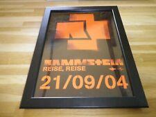 RAMMSTEIN - Reise - PUB ORIGINALE ENCADREE !! ORIG ADVERT FRAMED