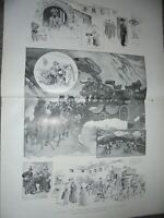A Holiday Tour Over the Simplon Pass by Reginald Cleaver 1901 print ref AM