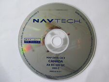 Land Rover / BMW NAVTECH Navigation Disc CANADA CD 8  S0002-0118-311 AB BC ON QC
