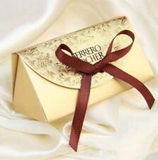 Contenant boîte dragées chocolat cadeaux mariage soirée fêtes noël lot 10pcs .