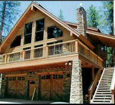 CABIN -CHALAT HOUSE PLANS 24x36