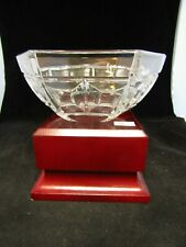 Vintage Quality Art Glass- Lead Crystal Hexagon Rosenthal Bowl ~ 5.75""