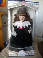 Victorian Collection Porcelain Doll Limited Edition By Melissa Jane 1997