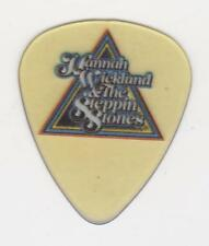 RaRe Collectible HANNAH WICKLUND & the STEPPIN STONES GUITAR PICK CONCERT TOUR