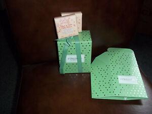 L'OCCITANE FLEURS DE CERISE (CHERRY BLOSSOM) SOAP 50GX  2 + BOX +RIBBON GIFT SET