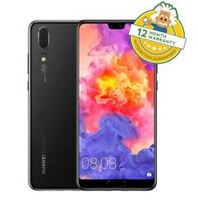 Huawei P20 Black (Unlocked) 128GB Android Oreo Smartphone EML-L09 - GRADE A