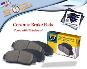FRONT CERAMIC BRAKE PAD SET FOR 97-03 RAM1500,EXPEDITION,F150,F250,NAVIGATOR(702