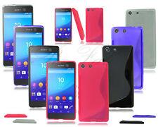 Carcasas Para Sony Xperia M5 de silicona/goma para teléfonos móviles y PDAs