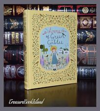 Anne of Green Gables by L.M. Montgomery New Sealed Leather Bound Collectible