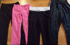 Girls pants, leggings, athletic, black, pink, Danskin, Place, GapKids *390