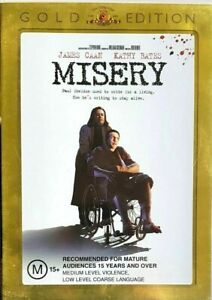 Misery DVD - GOLD EDITION (PAL, 2005) FREE POST