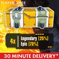 Outriders - 4x Legendary/Epic Loot Chest - CT15 / LV 50 - PC/PS4/PS5/Xbox One/X