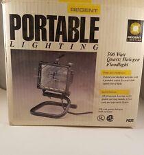 Portable Regent Lighting 500 Watt Halogen Floodlight NIB