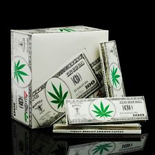 HORNET Dollar 50 Booklets (1600 Leaves) 110mm King Size Tobacco Rolling Papers