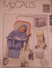 Mccalls 9528 Stroller Liner Diaper Bag Bunting & Other Sewing Pattern