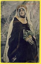 cpa Spectacle Théatre Actrice VIERGE RUSSE Actress Theater RUSSIAN VIRGIN