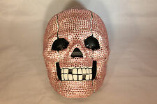 Rhinestone Skull Telephone with Bling in Sweet Pink Unique Design N 302
