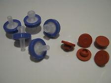 Syringe Filter & Injection Port Kit For Mushroom Liquid Culture & Spawn Jar Lids