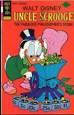 Gold Key Disney Uncle Scrooge #132 Fabulous Philosopher's Stone (1976) MINT NEW!