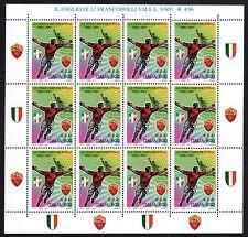 Italia Repubblica 2001 Minifoglio  Roma Campione MNH**